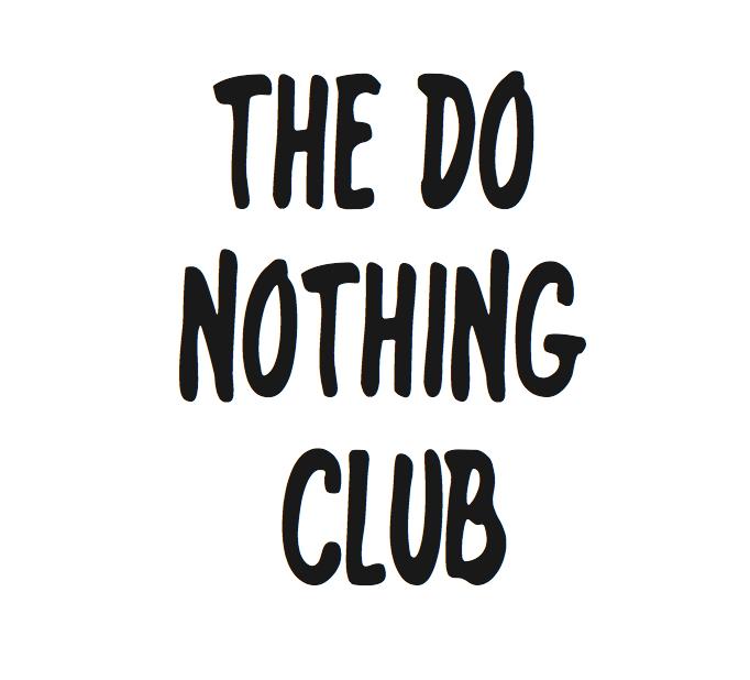 the do nothing club alessio mazzaro
